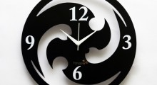 SAI001BAS0100139-Basement-Bazaar-Symmetric-Chakari-Black-Wall-Clock